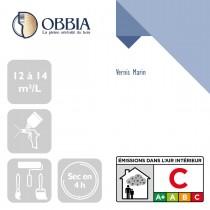 Pictogrammes de mise en oeuvre et certification(s) pour le Vernis Marin Obbia
