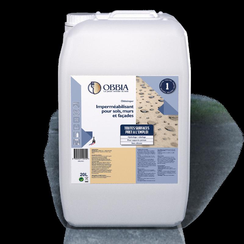 Imperméabilisant pour sols murs et façades Obbia